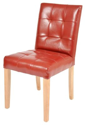Kent Leather Dining Chair 1