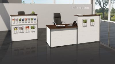 Genua Plus Reception Desk V6 B