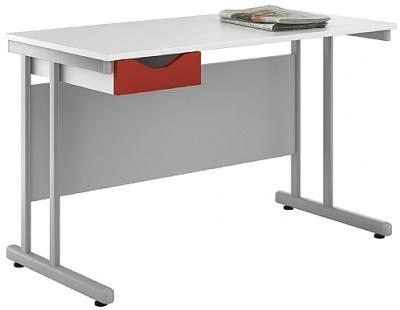 Uclic Kaleidoscope Desk Red Drawer Front