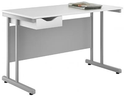 Uclic Kaleidoscope Desk White Front