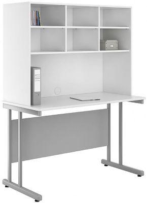 UCLIC Kaleidoscope Desk With Hutch 1