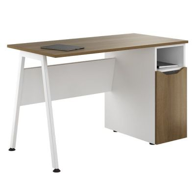 Aspire Slyvan Desk Wioth C Upboard In Walnut