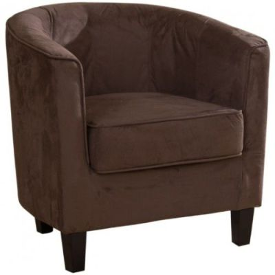 Riga Tub Chair Mocha Finish