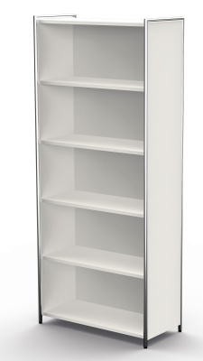 Artline High Bookcase In White A