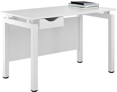 UCLIC Engage Desk With A White Drawer Front