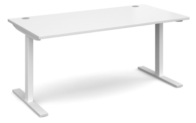Ele8 Desk With A Whiote Top
