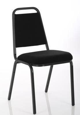 Master Banqueting Chair Black Fabric