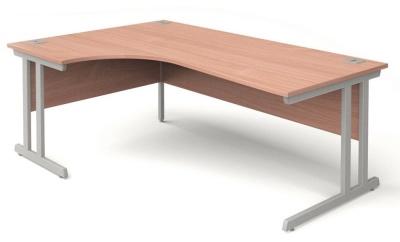 Trapido Left Hand Corner Desk In Beech