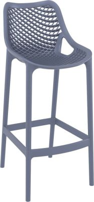 Percy Dark Grey High Stool