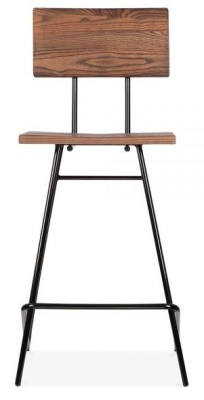 Hairpin Urban High Stool Front View