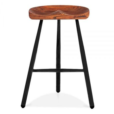 Tyso High Stool Front View