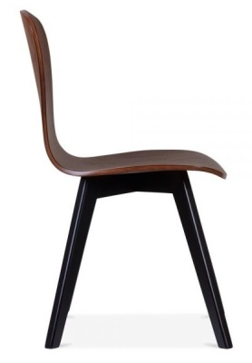 Manhattan Chair With A Black Frame Side View