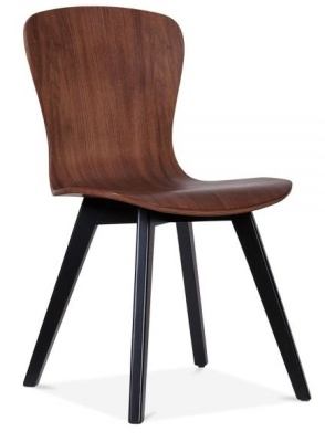 Manhattan Dining Chair With Black Legs Front Angle