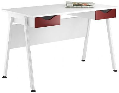 Aspire Refelection Desk With Two Drawers