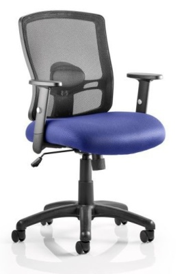 Corbett Chair Blue Seat