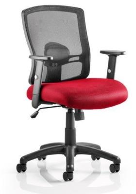Corbett Chair Red Seat