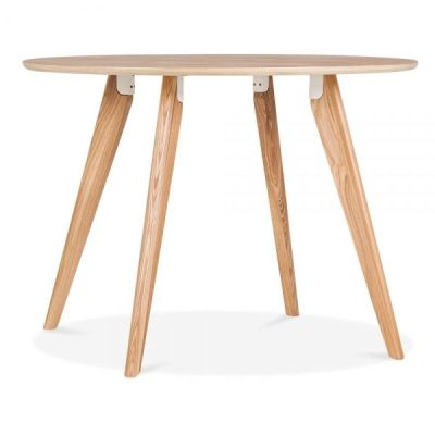 Oslo Rounhd Table Natural Finish