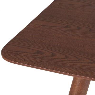 Sydney Table Walnut Detail Shot