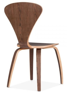 Cherner Chair In Walnut Frear Angle