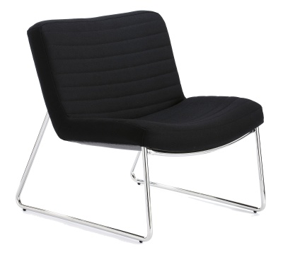 Victory Lounge Chair In Black Chair