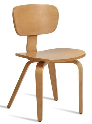 Paris Side Chair In Ligt Oak