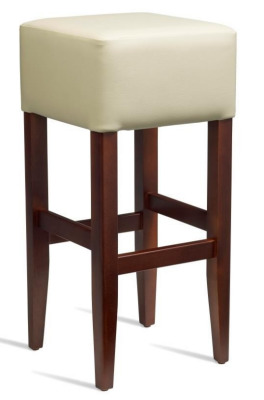 Dijon High Stool Cream Leather