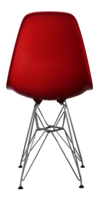 Eames Inspired Dsw Childs Chair In Read Rear View