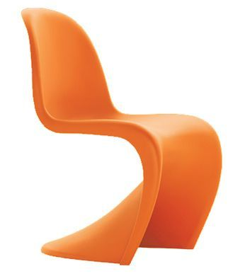 Childres Panton Chair In Orange
