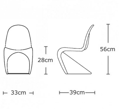 Panton Chair Dims