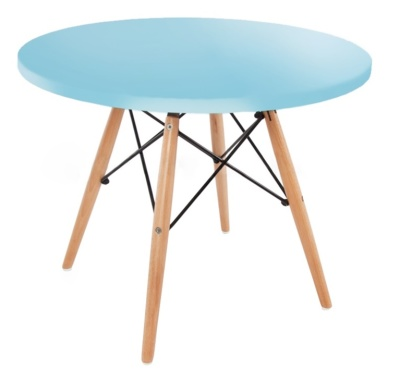 Kids Dsw Table Light Blue Top