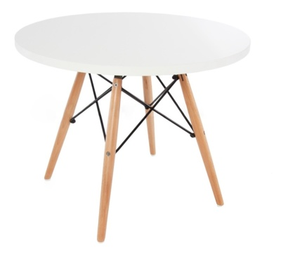 Kids Dsw Table White Top Angle Shot