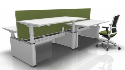 Four Person Sit Stand Bench