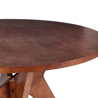 Icon Walnut Dining Table Detail Shot