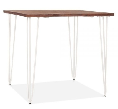 Hairpin Table White Legs 1