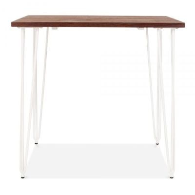 Hairpin Table White Legs 2