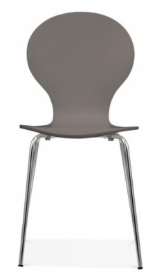 BHutterfluy Chair In Warm Grey Front Face