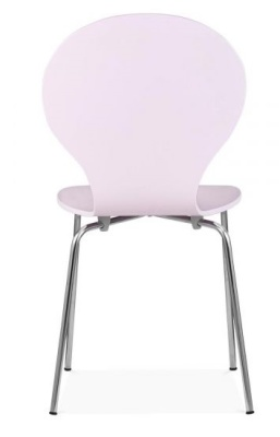 Butterfly Chair Rear View Pink Shell