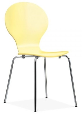 Butterfly Chair Lemon Front Angle