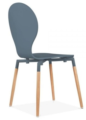 Butterfly Nouveau Chair In Grey Rear Angle View