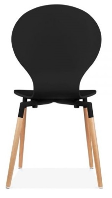 Butterfly Nouveay Chair In Black Rear View