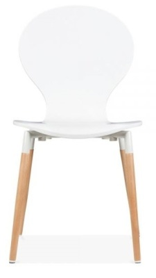 Butterfly Nouveau Chair In White Freont View