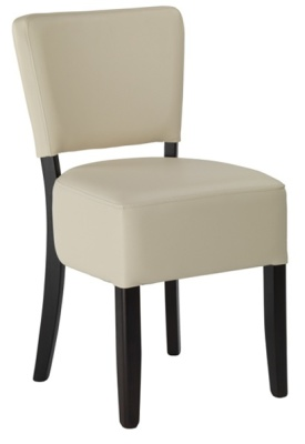 Dijon Chair Ivory Wenge
