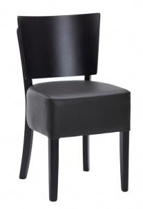 Weston Dining Chair Dark Brown Wieth A Wenge Frame