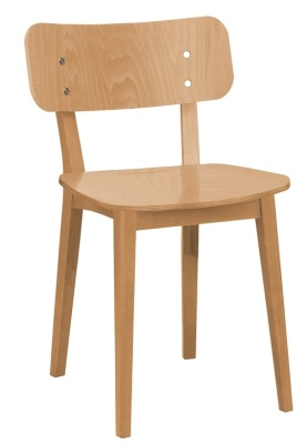 Lanciano Dining Chair In Dark Oak