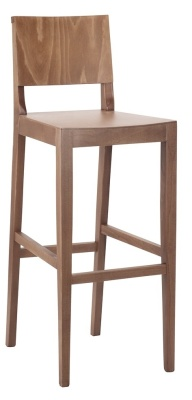 Cloet Wooden High Stool 1