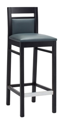 Portiss Wooden High Stool