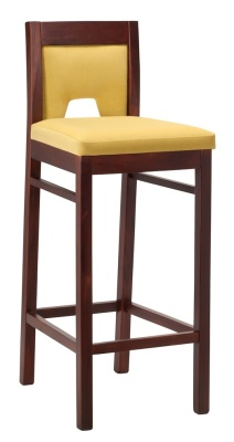 Gargot Wooden High Stool