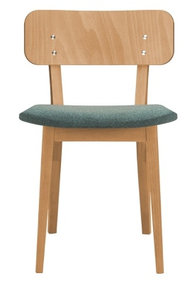 Lanciano Chair With An Upholstered Seat