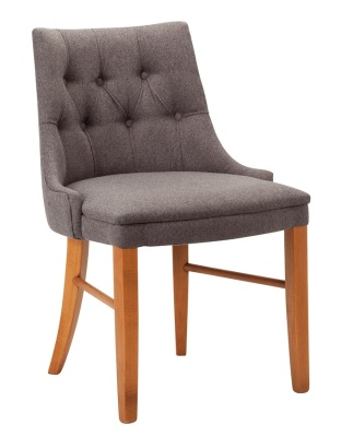 Cortina Dining Chair With Button Back Upholstery