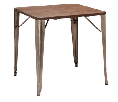 Tollix French Bistro Square Table